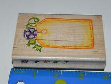 Image Tree / EK Success Rubber Stamp - Gift Tag Bow & Ribbon Image #IT011