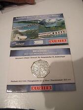OOSTENRIJK 5 EUROMUNT 2003 WASSERKRAFT IN COINCARD