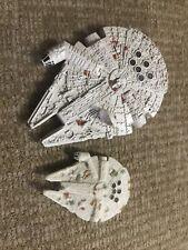 LFL Star Wars Diecast Millennium Falcon Starships Lot Of 2