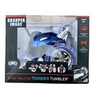 Blue Remote Controlled Thunder Tumbler Rally Car - 360 Spins - Sharper Image