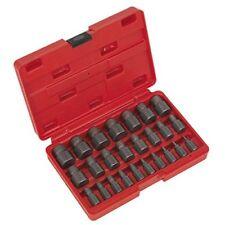 Sealey Ak8182 multi spline tornillo extractor set 25 piezas