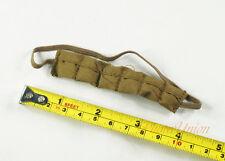 1:6 Figure Military Carbine M1 Magazine Cartridge Ammo POUCH Bandolier DA229