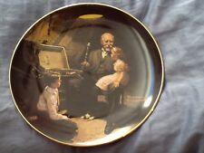 Norman Rockwell Plate Grandpas Treasure Chest
