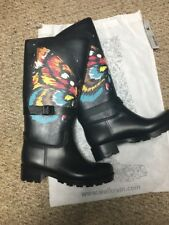 Live The Rain Boots Walk Coby Size 39 Butterfly Colorful Size 8.5