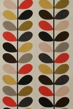 Designer Orla Kiely Multi Stem Tomato Cotton Curtain Upholstery Craft Fabric