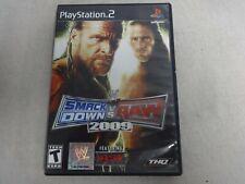 WWE Smackdown Vs. Raw 2009 Playstation 2 PS2 Game & Case, No Manual Free Ship