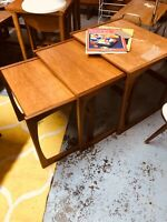 G PLAN NEXT OF 3 TABLES RETRO 1960S MID CENTURY MODERN FURNITURE VINTAGE