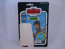 Star Wars vintage Luke Bespin esb Palitoy 45 back Bounty Hunter offer cardback