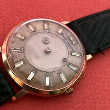 VINT BAUME & MERCIER MISTERY wind up  EXTREMELY BIG  DIAL Ca 51  NO RESERVE