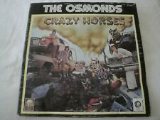 Crazy Horses THE OSMONDS VINYL LP ALBUM 1972 MGM RECORDS / KOLOB RECORDS GIRL