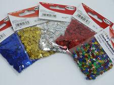 1400 Paillettensterne mini ver. Farben Streudeko Pailletten Sterne Tischdeko