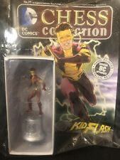 DC Comics Chess Collection #77 Kid Flash White Knight Eaglemoss Figure NEW