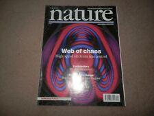 Nature Magazine April 2004 Lie Detectors High Speed Electrons Chaos