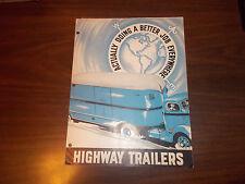 1940s Highway Trailer Company Sales Brochure