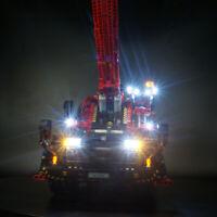 Led light kit for LEGO 42082 Rough Terrain Crane Lighting 42082 blocks bricks