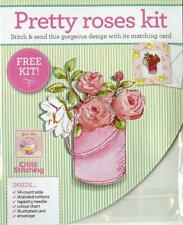 The World of Cross Stitching Free Gift from Issue 217 - Pretty roses kit