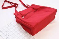 Burgundy Microfiber Hand Bag Makeup Purse Womens Bag Style Cute Fashion Fit