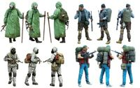 1/35 Resin Zombie War 4 Soldiers Set Unassembled Unpainted BL691