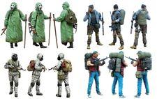 1/35 Resin Zombie War 4 Soldiers Set Unassembled Unpainted BL691
