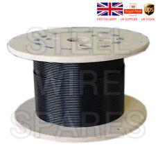 Cable de gimnasio Cable De Alambre 4 mm nylon negro revestido para 5.2 mm 100 metros Carrete Q270