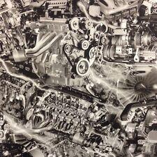 1m of Engines/Motor Film (EN01) 50cm hydrographics water transfer film