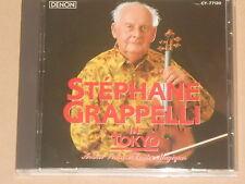 Stephane Grappelli in Tokyo CD