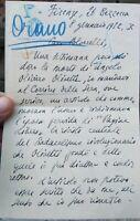 1932 CENSURA FASCISTA A PAOLO ORANO PER ARTICOLO SU ANARCHICO RAVENNATE OLIVETTI