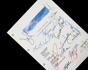Pretty Little Liars TV Script Pilot Signatures Autographs Reprint PPL Ashley