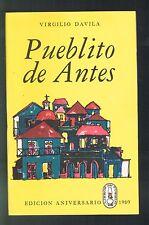 Panfleto Libros Del Pueblo N 11 Virgilio Davila Pueblito De Antes Puerto Rico