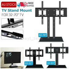 "Universal Adjustable Table TV Stand Bracket Mount Base For 22-70"" LCD LED Screen"