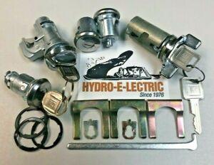 NEW 1979-1981 Pontiac Firebird  Complete OE Style Lock Set- GM keys