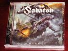 Sabaton: Heroes CD 2014 Bonus Tracks Nuclear Blast Records USA NB 3224-2 NEW