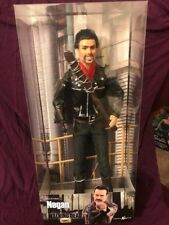 Negan TWD -OOAK Ken The Walking Dead Barbie Doll Collector Collectible Lucille