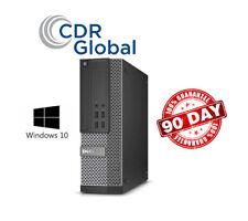 Dell Optiplex 7010 Sff Quad Core i5 3.4Ghz 4Gb Ram 500Gb Hdd Windows 10