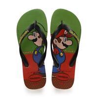 Havaianas Men's Mario Bros Flip Flops - Strawberry NWT
