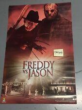 x1 2003 Freddy vs Versus Jason Movie Poster (unused) 23 x 35 inches