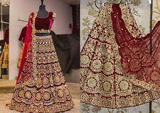 Réel Pics-Bollywood Indien Pakistanais lourds Soirée Mariage Lehenga Lehnga Saree