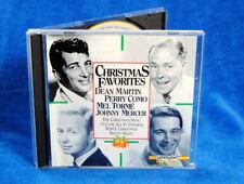 Christmas Favorites: Dean Martin / Perry Como / Mel Torme / Johnny Mercer 1992