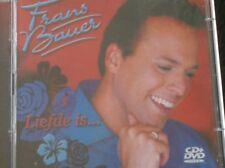 FRANS BAUER - LIEFDE IS... (CD + DVD - 2006) 'n moeder bent je niet maar even...