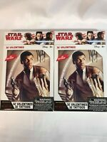 Star Wars Valentines Cards 32 Valentines w/ 32 Tattoos Lot of 2 Boxes