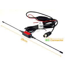 Amplifier Digital DVB-T TV Antenna Receiver Car Antenna IEC Connector Port