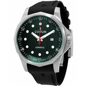 Corum A411-04174 Men's Admiral's Cup Green Automatic Watch