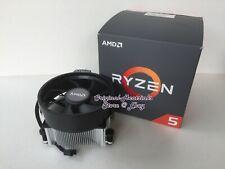 AMD Ryzen 3400G 3600X CPU Cooler Fan Heatsink Factory Thermal Paste No CPU - New