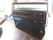 GE  AM/FM radio  2 way power  model 7-26600  works fine
