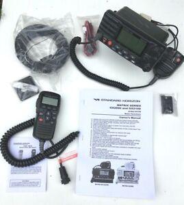 Standard Horizon GX2100 marine DSC VHF transceiver with AIS + RAM3 Mike