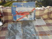 Bauteile für Revell 04558 Junkers Ju 52/3m M 1 48 Länge 39cm Spannw 61cm