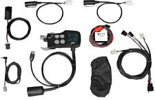 J&M Intercom Motorcycle Audio System Stereo Radio CB Weather Driver & Passenger