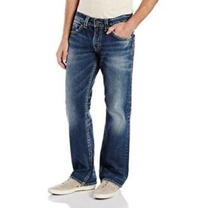 Silver Jeans Men's Zac USA Relaxed-Fit Straight-Leg Jean $115.00 - 30/30