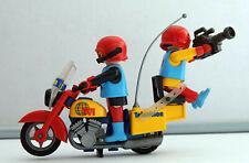 27438 Playmobil Sacoches de Selle pour Moto Télévision