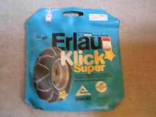 ERLAU Klick Super Schneeketten 12 - 14 Zoll Räder f. Kleinwagen